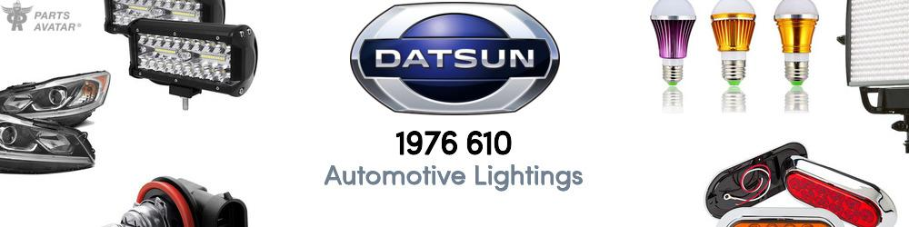 1976 Nissan 610 Automotive Lightings