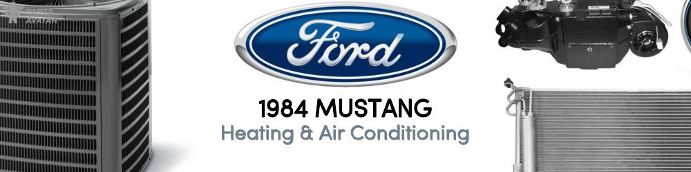 1984 Ford Mustang Heating & Air Conditioning