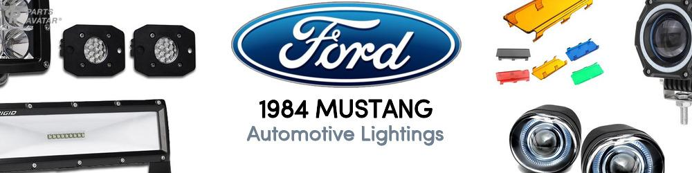 1984 Ford Mustang Automotive Lightings