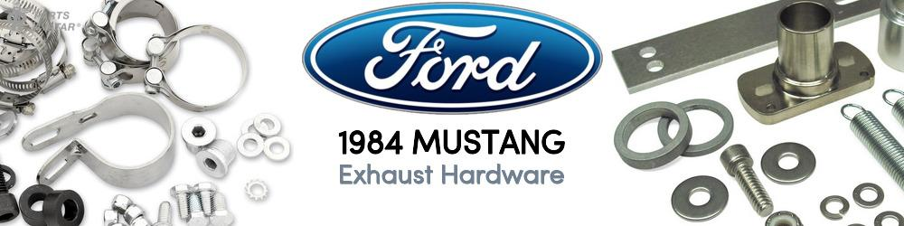 1984 Ford Mustang Exhaust Hardware