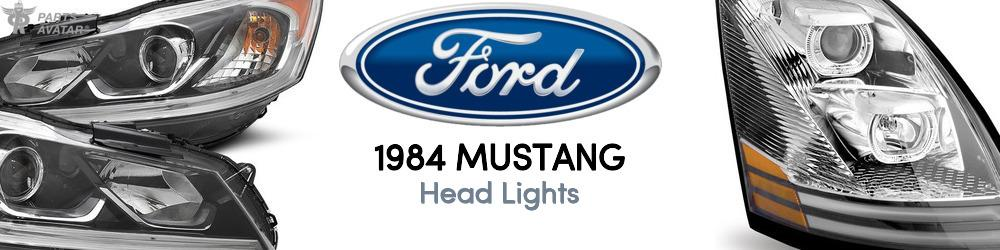 1984 Ford Mustang Head Lights