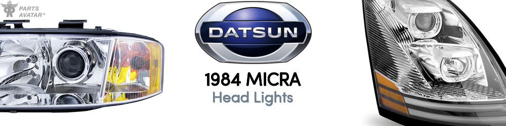 1984 Nissan Datsun Micra Head Lights