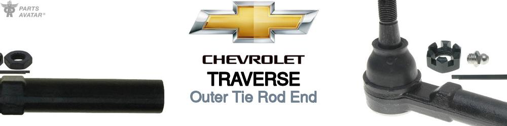 Chevrolet Traverse Outer Tie Rod End