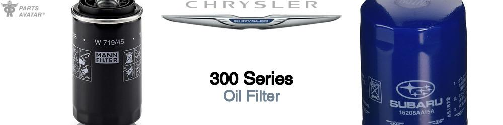 Chrysler 300 Series Oil Filter