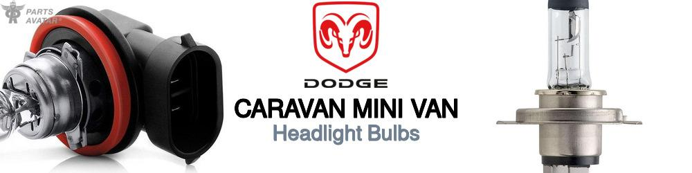Dodge Caravan Mini Van Headlight Bulbs