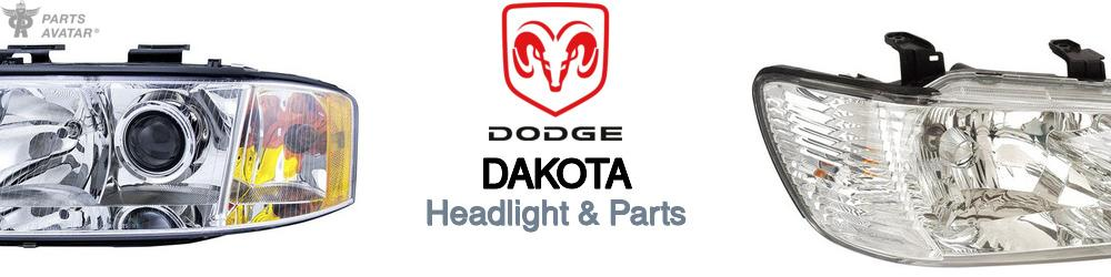 Dodge Dakota Headlight & Parts