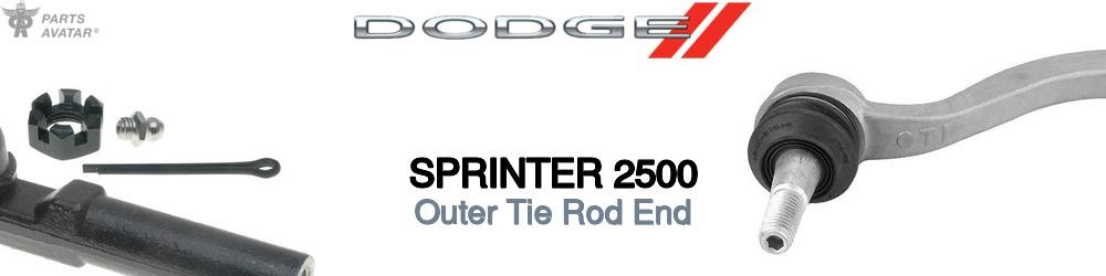Dodge Sprinter Outer Tie Rod End