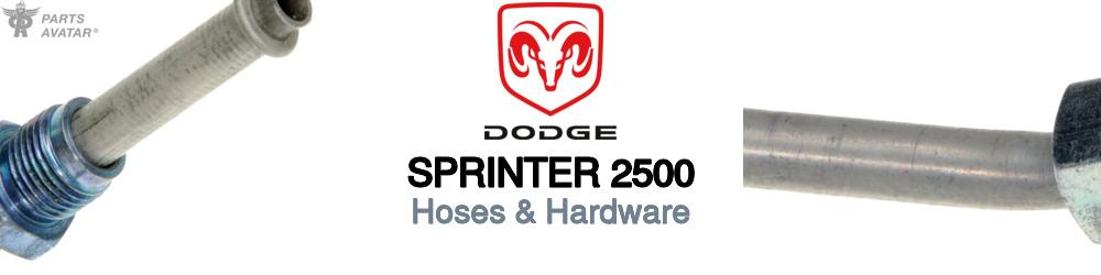 Dodge Sprinter Hoses & Hardware
