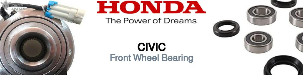 Honda Civic Front Wheel Bearing