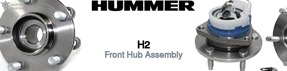 Hummer H2 Front Hub Assembly