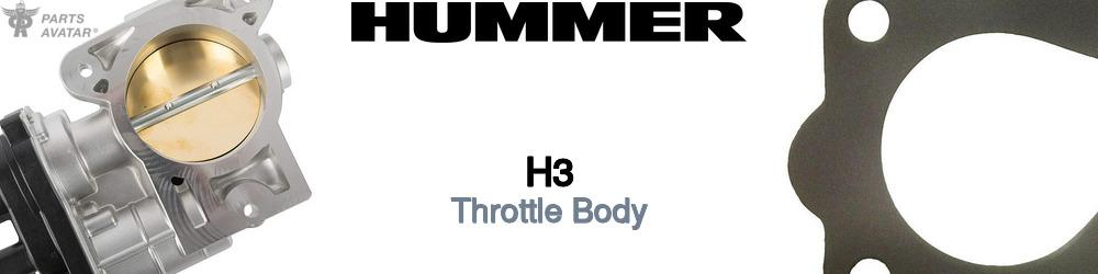 Hummer H3 Throttle Body