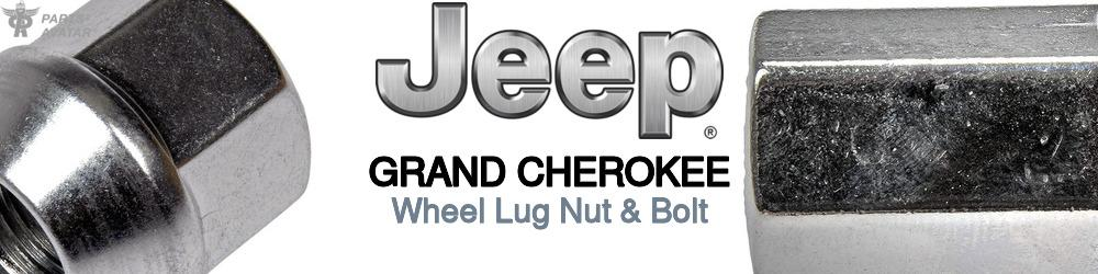 Jeep Truck Grand Cherokee Wheel Lug Nut & Bolt