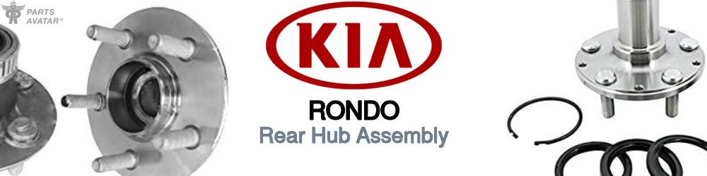 Kia Rondo Rear Hub Assembly