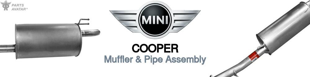 Mini Cooper Muffler & Pipe Assembly