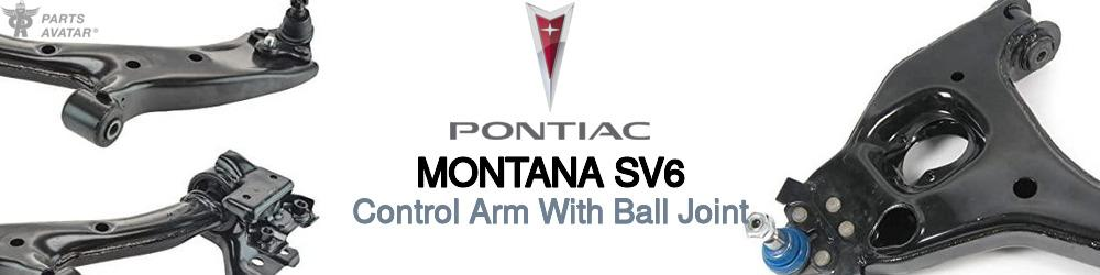 Pontiac Montana Control Arm With Ball Joint