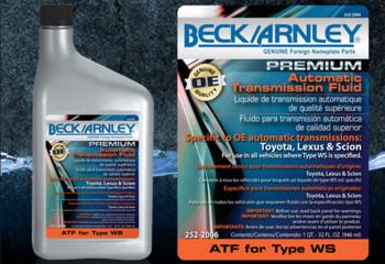ATF Type WS-Beck Arnley