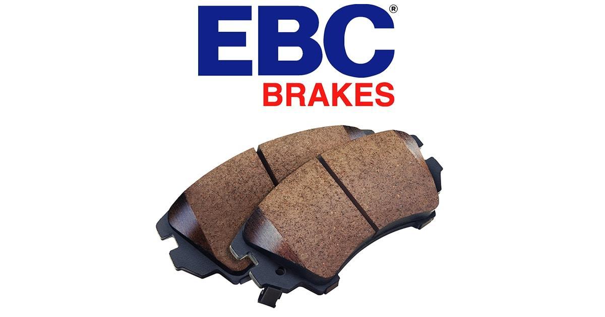 Premium Organic Pads by EBC BRAKE