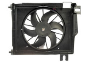 Condenser Fan Assembly with Extra Harness
