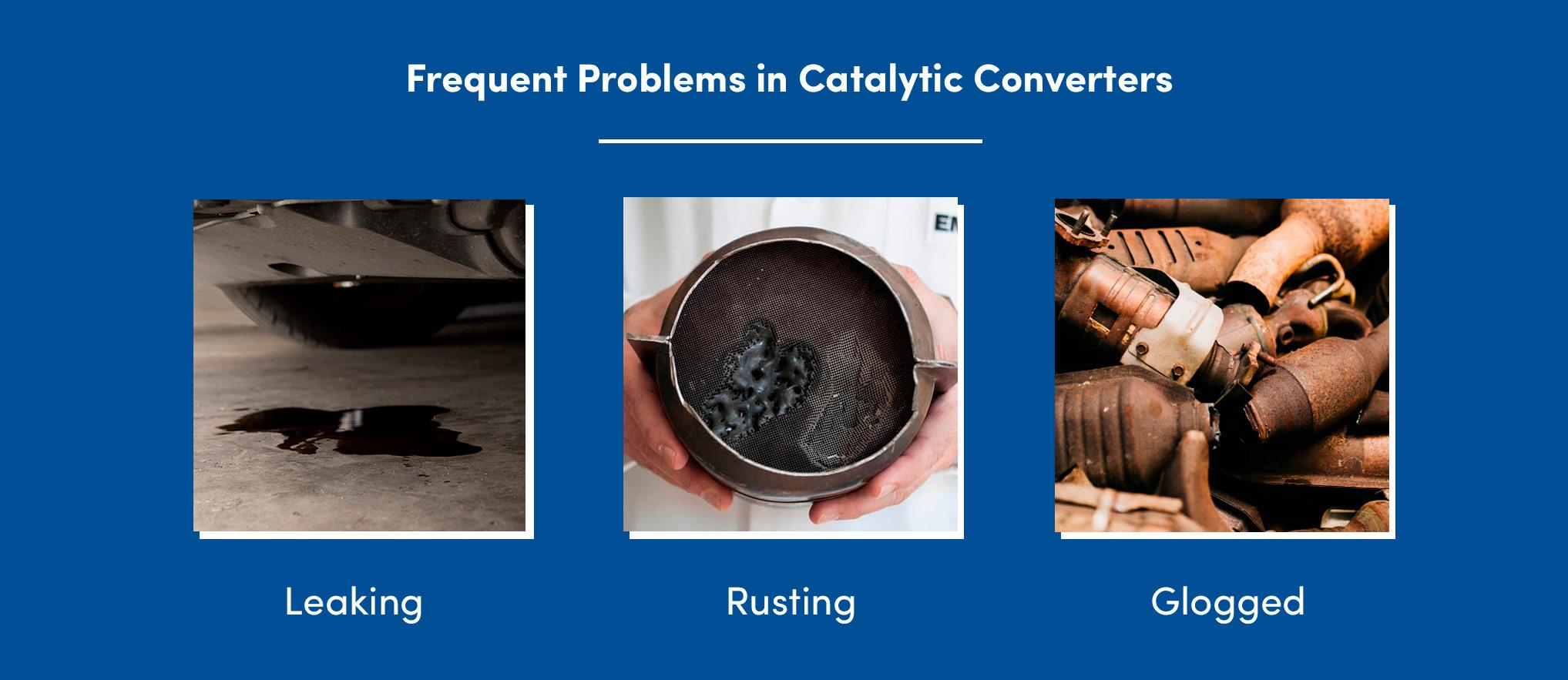 Frequent Problems With Catalytic Converter