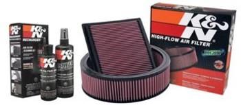 K&N Air Filters & Air Filter Cleaning Kits