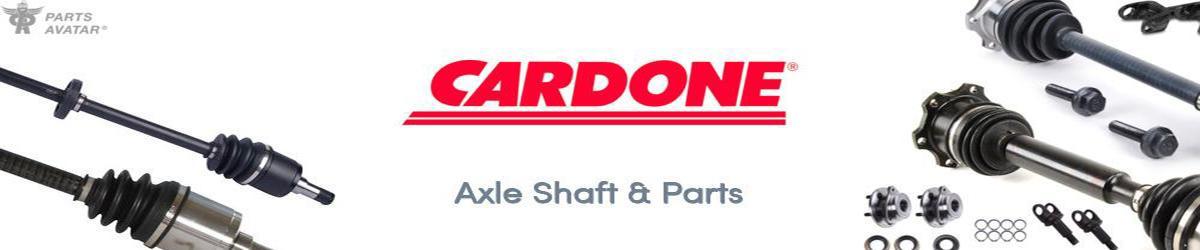 4.2 Cardone Industries CV Shafts