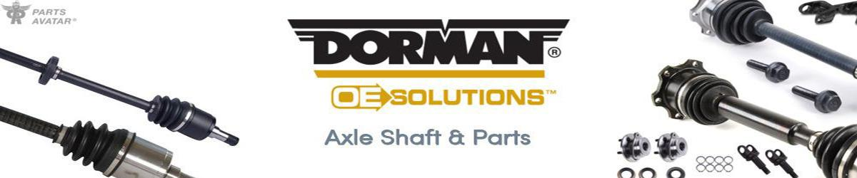 4.3 Dorman (OE Solutions) CV Shafts