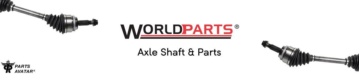 4.1 Worldparts CV Shafts
