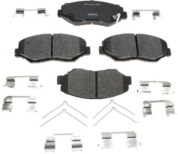 Front Ceramic Pads by RAYBESTOS