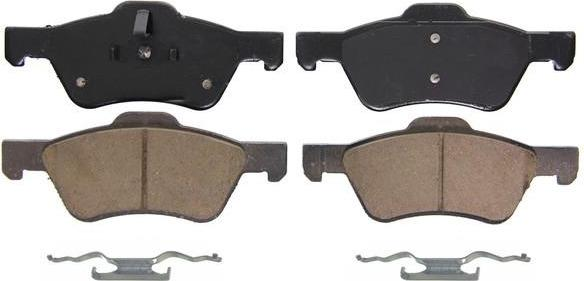 Wagner Brake Pads Review >> Front Ceramic Pads - ZD1047B by WAGNER on PartsAvatar.ca