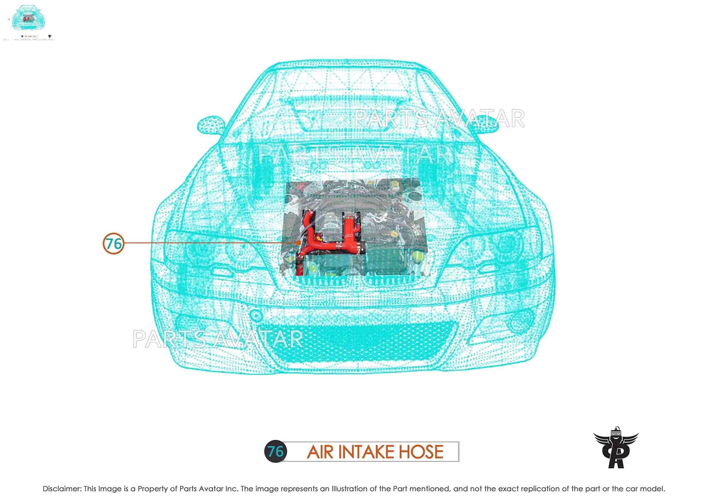 Dorman OE Solutions 696-739 Engine Air Intake Hose