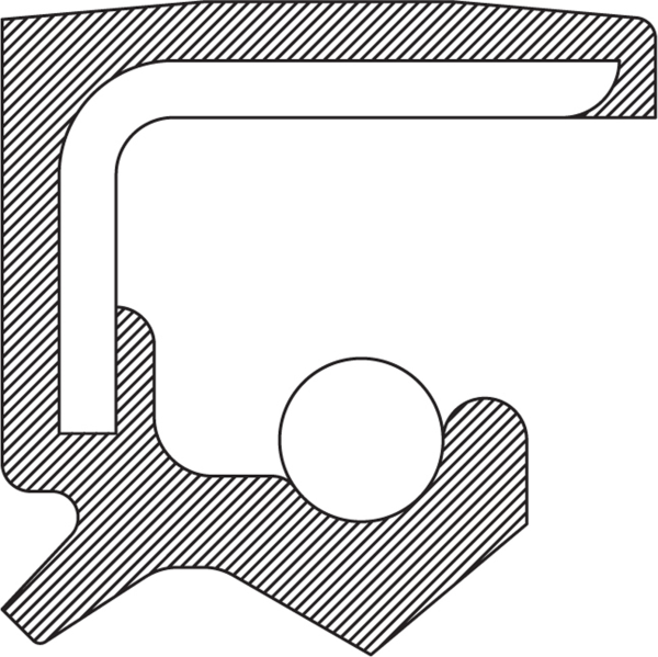 Shift Shaft Seal by NATIONAL OIL SEALS