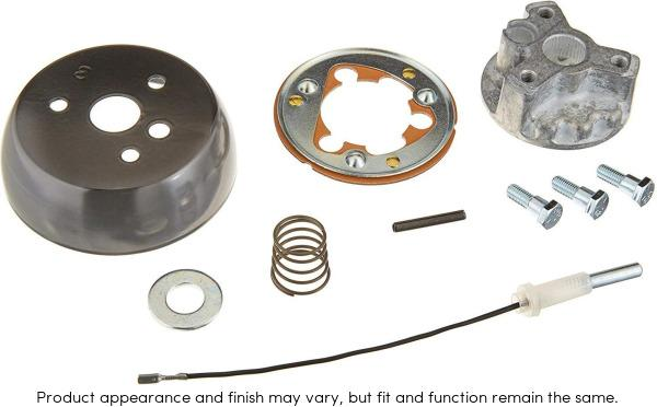 Grant 4193 Steering Wheel Installation Kit Black