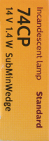 Auto Transmission Indicator (Pack of 10) by PHILIPS