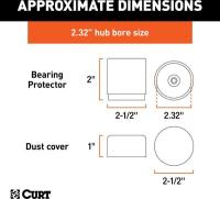 Bearing Protectors by CURT MANUFACTURING