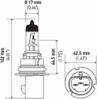 Dual Beam Headlight 900710080WTB