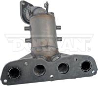 Exhaust Manifold And Converter Assembly