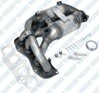 Exhaust Manifold And Converter Assembly 16385