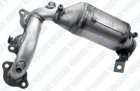 Exhaust Manifold And Converter Assembly 16392