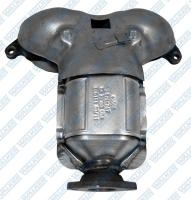 Exhaust Manifold And Converter Assembly 16472