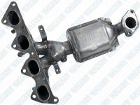Exhaust Manifold And Converter Assembly 16482