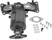 Exhaust Manifold And Converter Assembly 16496