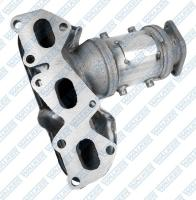 Exhaust Manifold And Converter Assembly 16527