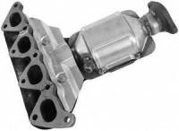 Exhaust Manifold And Converter Assembly 16619