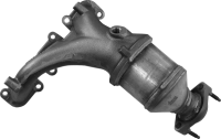 Exhaust Manifold And Converter Assembly 16793