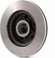 Front Hub And Rotor Assembly