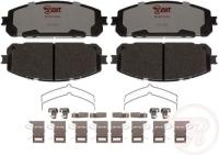 Front Hybrid Pads