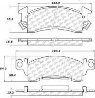 Front Premium Semi Metallic Pads 300.00520