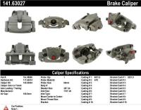 Front Right Rebuilt Caliper With Hardware 141.63027