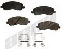 Front Semi Metallic Pads ALD866M