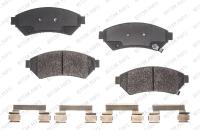 Front Semi Metallic Pads RSD1075MH